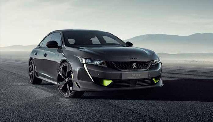 Peugeot Sport Engineered 508 konsept