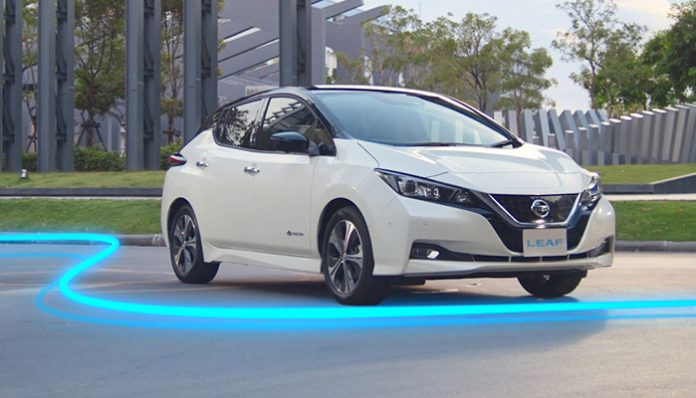 Nissan Leaf elektrikli