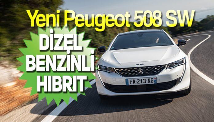 Yeni Peugeot 508 SW Hibrit