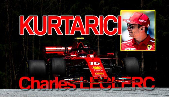 Avusturya GP'sinde pole Leclerc'in