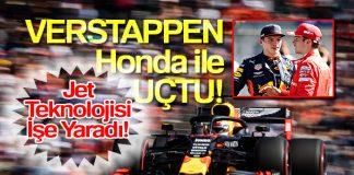 Verstappen Avusturya GP'sinde destan yazdı