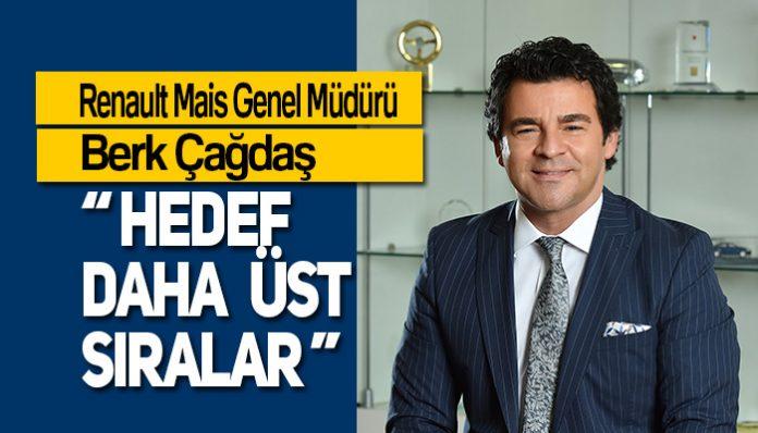 Renault Mais Genel Müdürü Berk Çağdaş