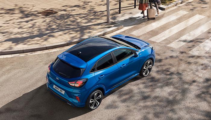 Ford'un daha da geliştirdiği Şerit Takip Sisteminin Yol Kenarı Tespiti fonksiyonu