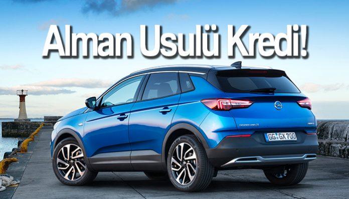 """Opel'den Haziran Boyunca """"Yeni Alman Usulü"""" Kredi İmkanları"""