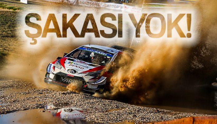 Ott Tanak Sardunya Rallisi-Rally Italia Sardegna