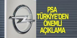 PSA Türkiye, Opel arazisi ile ilgili açıklama yaptı