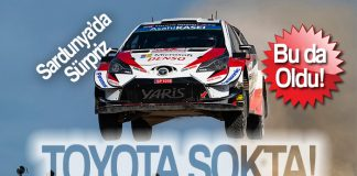 Toyota'da son dakika şoku