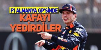 F1 Almanya GP'sini Max Verstappen Kazandı