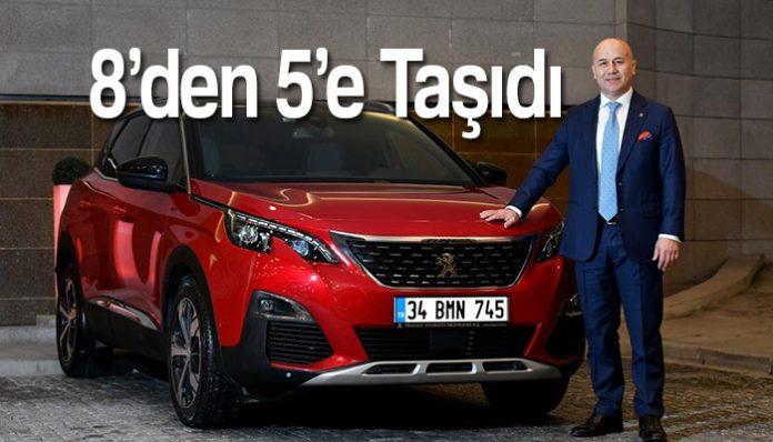 Peugeot Türkiye'den olağanüstü performans