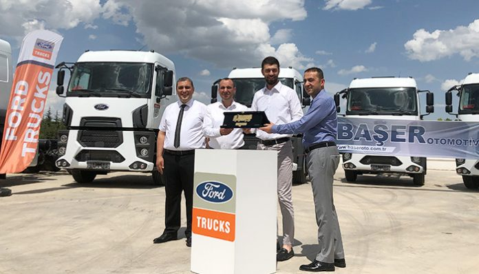 Akkoç Lojistik, filosunu 10 adet Ford Trucks ile genişletti