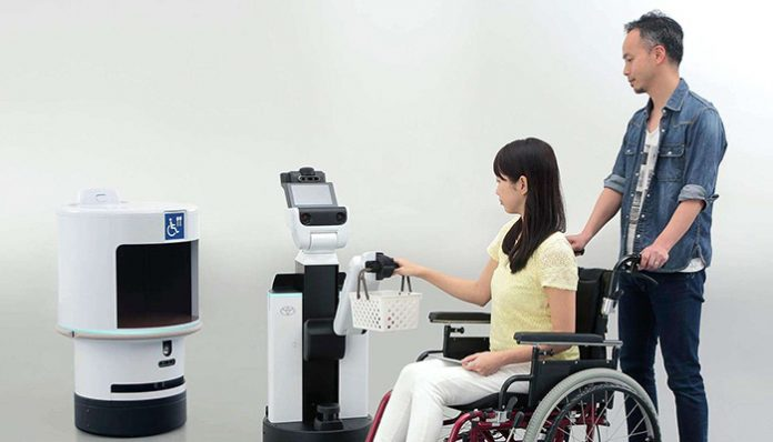 Toyota Robotları, engellilerin hizmetinde