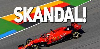 Vettel şokta!