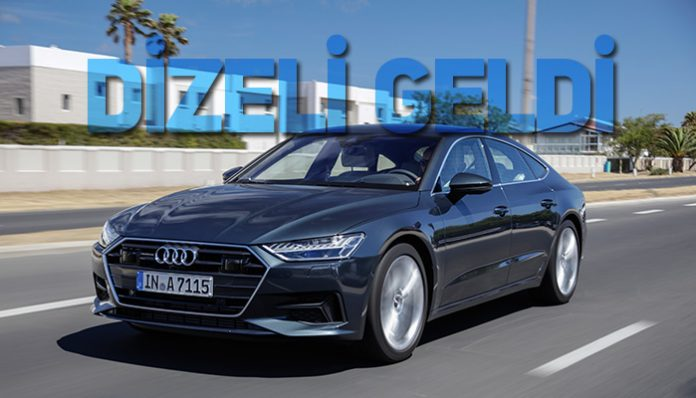 Audi A7 Sportback 2 litre dizel
