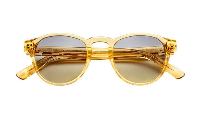 24 ayar altın kaplama çerçeveli gözlük