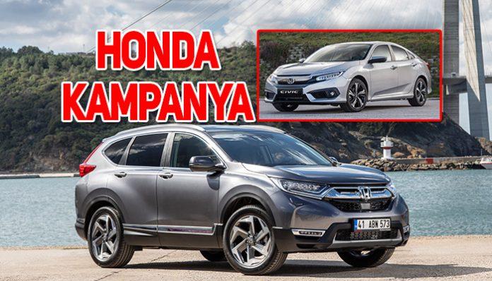 Honda Ağustos ayı kampanya fiyat listesi