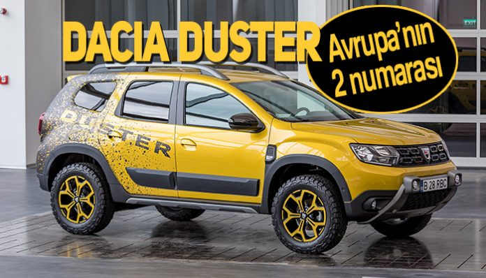 Dacia Duster Avrupa'nın en çok satan ikinci küçük SUV'u!