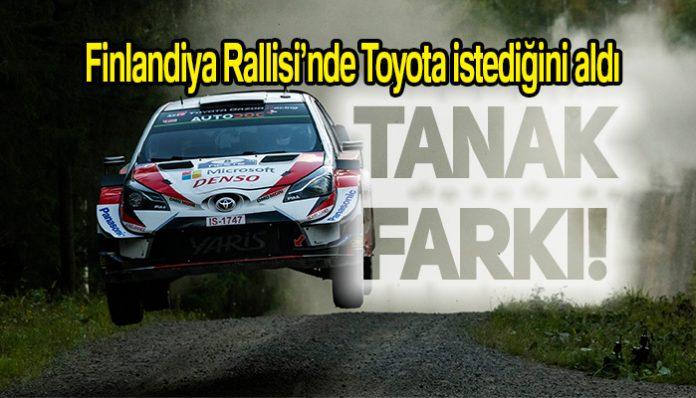 Ott Tanak, Toyota Yaris ile Finlandiya Rallisini kazandı