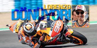 Honda piloto Lorenzo