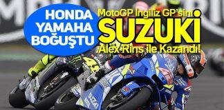 MotoGP İngiliz GP'sinde Alex Rins, Suzuki ile mucizeye imza attı!