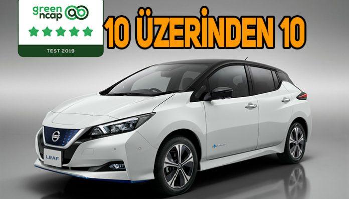 Euro NCAP'den çevreci Nissan LEAF'e 5 yıldız