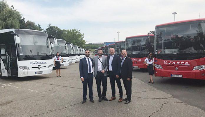 TEMSA'dan Sırbistan'a 30 araçlık teslimat