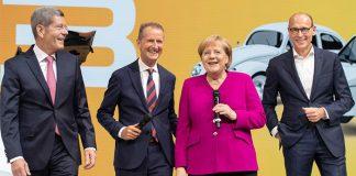 Merkel'den Alman Otomotiv Sektörü'ne teşvik atağı!