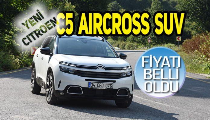 Yeni Citroen C5 Aircross SUV
