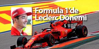 Ferrari pilotu Leclerc
