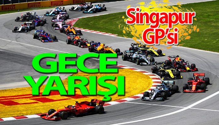 Formula 1 Singapur GP'si ne zaman?