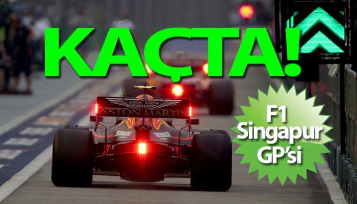 Formula 1 Singapur yarışı saat kaçta
