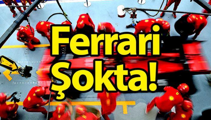Ferrari lider götürdüğü yarışta adeta ayağına sıktı!