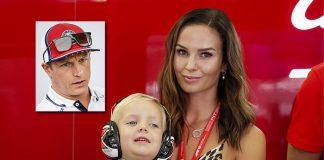 Raikkonen eşi ile birlikte Alfa Romeo reklam filmlerinde rol alacak