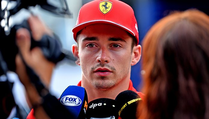 İtalya GP'si 2019-Charles Leclerc