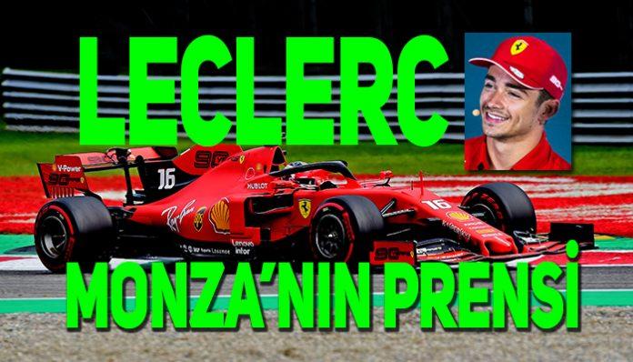Ferrari'nin Leclerc ile kazandığı Monza zaferi