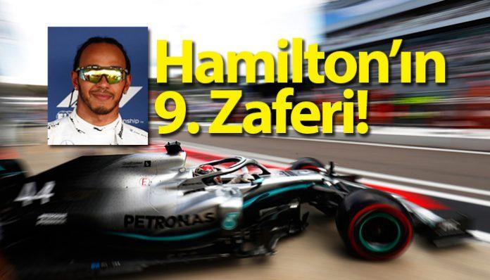F1 Rusya Grand Prix'sinin galibi Lewis Hamilton
