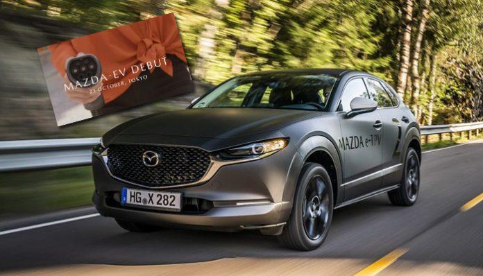 Mazda'nın ilk elektrikli otomobili