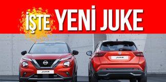 Yeni Nissan Juke'un dünya lansmanı yapıldı