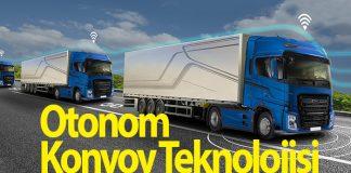 Ford Otosan Otonom Konvoy Teknolojisi gösterimi