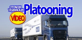 VİDEO: Platooning-otonom konvoy projesinin testi...