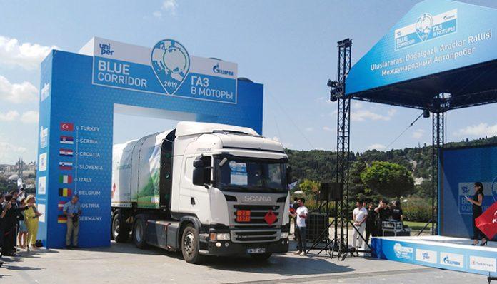 Yüzde 100 CNG'li Scania Kamyon