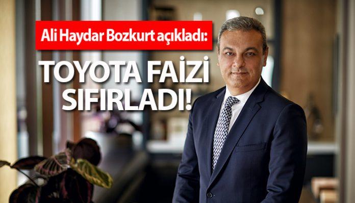 """Toyota """"Sıfır"""" finansman oranı kampanyası başlattı!"""