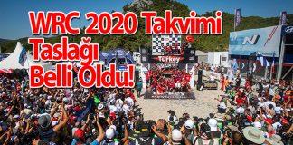 WRC 2020 Takvimi