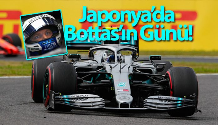 F1 Japonya GP'sinin galibi Valtteri Bottas