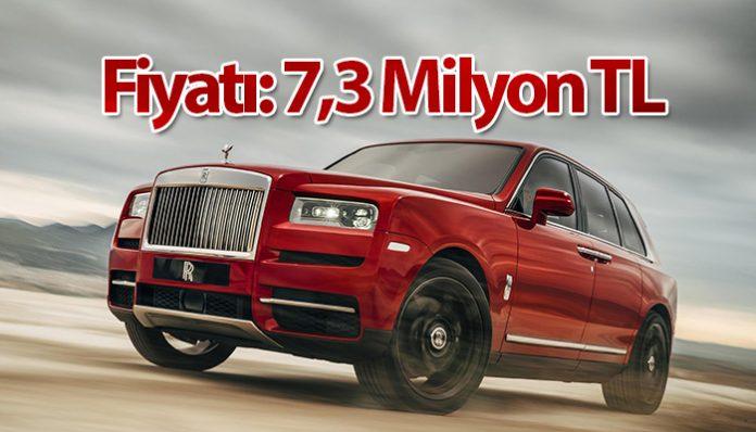 Rolls-Royce tarihinin ilk SUV modeli Türkiye'de!