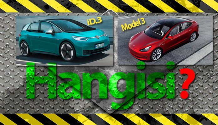 Tesla Model 3 mü, Volkswagen ID.3 mü!