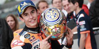 MotoGP Japonya GP'si Honda pilotu Marc Marquez'in
