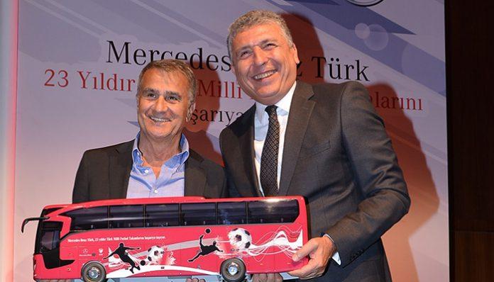 Mercedes-Benz 23 yıldan bu yana A Milli Futbol Takımı'nın ana sponsoru