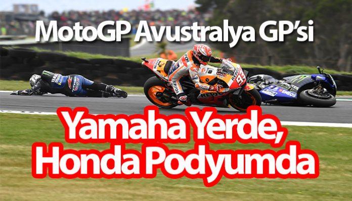 Honda pilotu Marquez Avustralya'da bir kez daha destan yazdı!