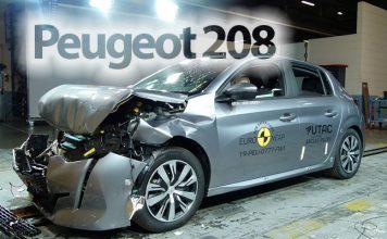 Peugeot 208 çarpma testinden kaç yıldız aldı?