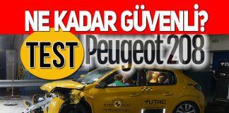 Yeni Peugeot 208 ne kadar güvenli?